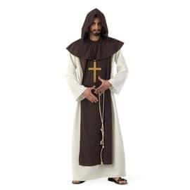 D�guisement Moine Cistercien Adulte Luxe - L - Marron