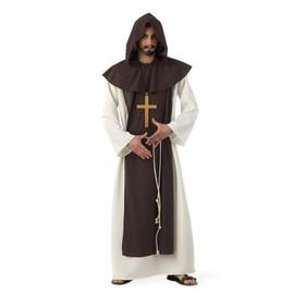 D�guisement Moine Cistercien Adulte Luxe - M - Marron