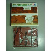 Tamiya Military Miniature 1/35 Ww2 Brick Wall Set