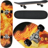 [Pro.Tec] Skateboard Classique (79 X 20,5 X 13,5 Cm)(Abec 7 - Roulement � Billes) (Dragon Cracheur De Feu) Board Complet / Board R�tro /