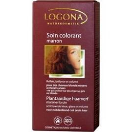 Soin Colorant V�g�tal Bio Chocolat - Logona