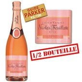 1/2 Bouteille Nicolas Feuillatte Champagne Ros�