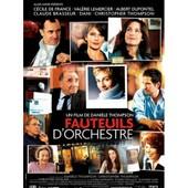 Fauteuils D'orchestre - Dani�le Thompson - Claude Brasseur - Cecile De France - Albert Dupontel - Affiche De Cin�ma Pli�e 60x40 Cm