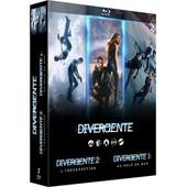 Divergente - Coffret : Cinq Destins, Un Seul Choix + L'insurrection + Au-Del� Du Mur - Blu-Ray de Neil Burger