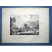 Lithographie De La Vall�e De Munster, Par Jacques Rothmuller, Publi�e � Colmar En 1839