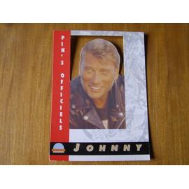 JOHNNY HALLYDAY PLV Pin's OFFICIEL COLLECTOR