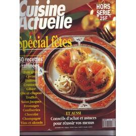 Cuisine Actuelle Hors Serie Novembre 1992