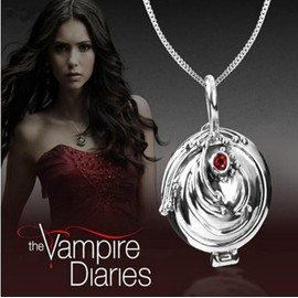 Collier Pendentif D'elena Original The Vampire Diaries Protection Haute Qualit�