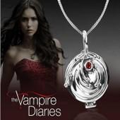 Collier Pendentif D'elena Original The Vampire Diaries Protection Haute Qualit�