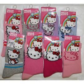 566bfcdc74dc4 Lot De 3 Chaussettes Hello Kitty Enfants Filles Neuves Prix Trop Cool  Pierre-Cedric !
