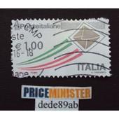 Italie.. 1.00� Poste Italiane (A.Ciaburro) Oblit�r� Used Stamp .