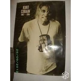 Poster Kurt Cobain 89x62 cm