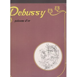 Poissons d'or. Debussy. United Music Publishers