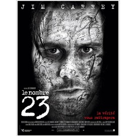 Le Nombre 23 (The Number 23) - V�ritable Affiche De Cin�ma Pli�e - Format 120x160 Cm - De Joel Schumacher Avec Jim Carrey, Virginia Madsen, Logan Lerman, Danny Huston - 2007 #
