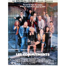 Les Commitments (The Commitments) - V�ritable Affiche De Cin�ma Pli�e - Format 120x160 Cm - De Alan Parker Avec Robert Arkins, Michael Aherne, Angeline Ball, Maria Doyle Kennedy - 1991