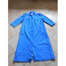 Robe De Chambre Taille 48 Bleu