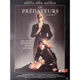 David Bowie, Affiche Originale Du Film : Les Pr�dateurs Uk 1983 40x60 Cm