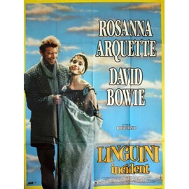 David Bowie, Affiche Originale Du Film : Linguini Incident (R.Shepard Usa 1991) 120x160