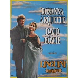 David Bowie, Affiche Originale Du Film : Linguini Incident (R.Shepard Usa1991) 40x60