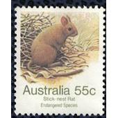 Australie 1981 Used Rongeur Greater Stick-Nest Rat Leporillus Conditor