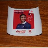 Panini Foot Uefa Euro France 2016 (Sticker Coca Cola) Raphael Varane