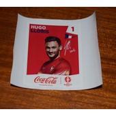Panini Foot Uefa Euro France 2016 (Sticker Coca Cola) Hugo Lloris