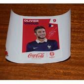Panini Foot Uefa Euro France 2016 (Sticker Coca Cola) Olivier Giroud