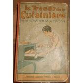 Le Tr�sor De La Cuisini�re Et De La Maitresse De Maison de A.-B. de P�rigord (Horace Raisson)