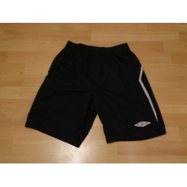 Short Football Umbro Noir