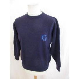 Pull Vintage Eden Park Bleu Taille M