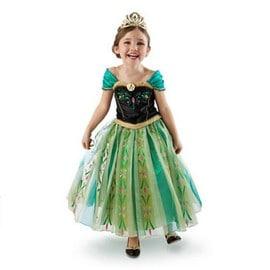 New Disney Princesse Frozen Reine Elsa Anna Costume Tulle Robes Filles