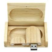 32 Go Mini Cl� USB Clef M�moire Flash U Disque USB 2.0 / Bois Nature