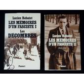 Les M�moires D'un Fasciste (2 Volumes) de lucien rebatet