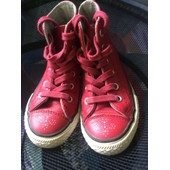 Baskets Converse 27 Rouge