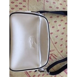 Sac Bandouliere Travers Blanc Lacoste