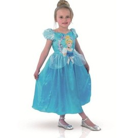 D�guisement Cendrillon- Story Time - Princesse Disney - Taille 5-6 Ans (105-116 Cm)
