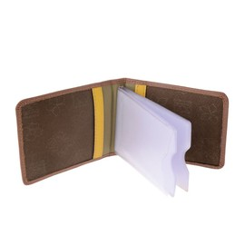 Unisex Multicolour Leather Credit Card Carrier By Dudu