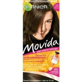 Coloration Cheveux Garnier Movida Sans Ammoniaque Chatain N�35