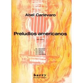Preludios americanos Abel Carlevaro n° 2 scherzino