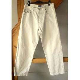 Pantalon Eden Park Coton Taille 44 Beige