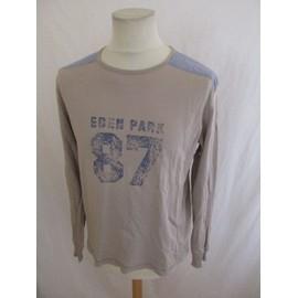 T-Shirt Eden Park Marron Taille L � - 55%