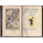 Vingt Contes De Boccace - Illustrateur Brunelleschi de BOCCACE