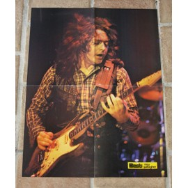 poster affiche magazine revue best RORY GALLAGHER 57x41cm