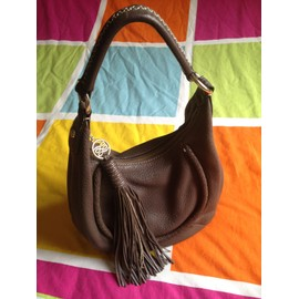 Sac � Main Lancel Cuir Marron