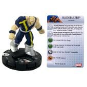 Heroclix Lot -John Greycrow017/Blockbuster010/Harpoon011/Riptide014sabretoth031/Arclight009