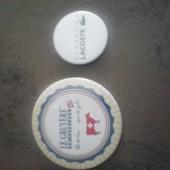 Lot De 2 Badges Publlicitaire