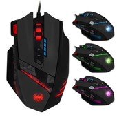 Z�lote C-12 boutons programmables optique USB LED souris Gaming Mouse 4000 DPI