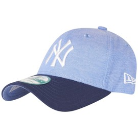 New Era 9forty Cap - Chambray New York Yankees Bleu Ciel