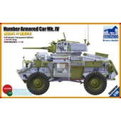 Bronco Models 1/35 Humber Armored Car Mk. Iv (Limited Edition 3,999 Only) Cb35081sp