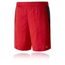 Mizuno Helix Square 8.5 Hommes Rouge Fitness Running Gym Short Bermudas Cale�ons